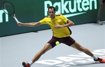 Daniel Galán no pudo contra el belga David Goffin en Copa Davis
