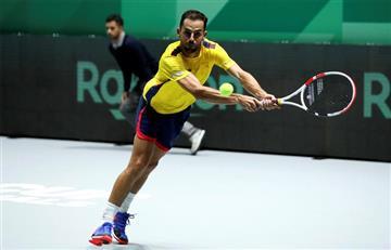 Santiago Giraldo perdió el primer punto ante Bélgica en Copa Davis