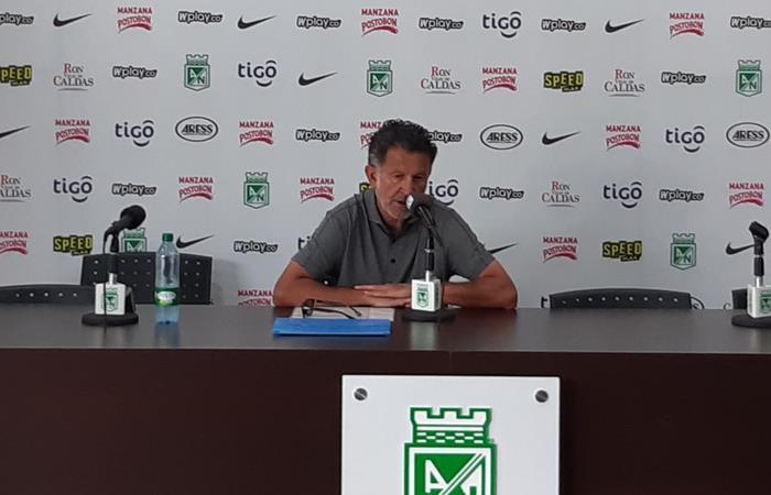 Juan Carlos Osorio, técnico de Atlético Nacional. Foto: Twitter