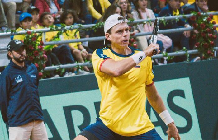 Nueva derrota para Colombia en la Copa Davis