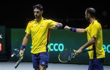 """Cabal y Farah terminaron la """"triste"""" participación de Colombia en Copa Davis"""