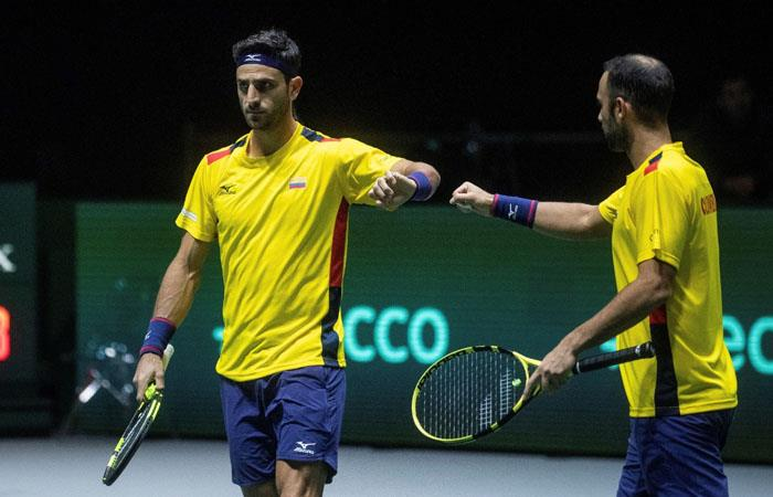 Copa Davis Cabal Farah Colombia Australia