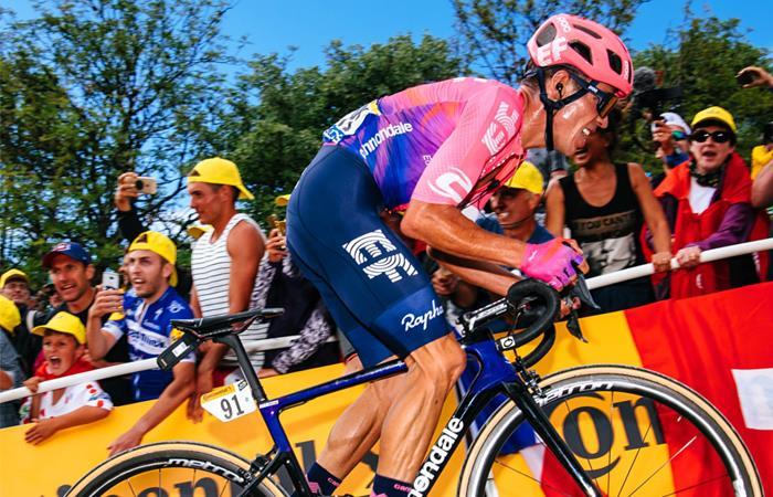 Fotos cicatrices Rigoberto Urán lesión Vuelta a España