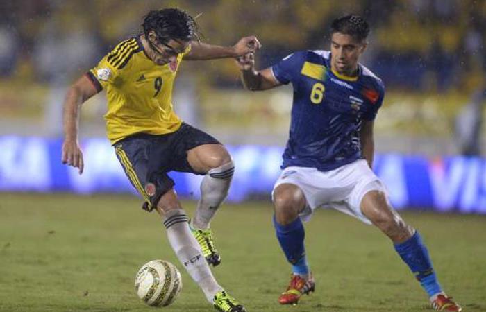 Selección Colombia Historial Ecuador