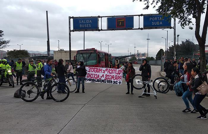 Movilizaciones protestas marchas paro nacional Bogotá