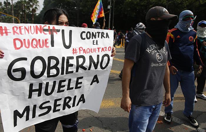 ¿está el Gobierno preparado para sentarse a escuchar los puntos que los manifestantes quieren negociar?. Foto: EFE