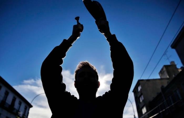 'Cacerolazo' reportado en varios sectores de Bogotá tras la jornada de paro nacional