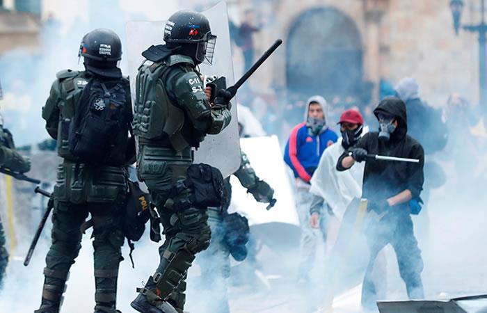 Día2: Paro Nacional 150 funcionarios heridos