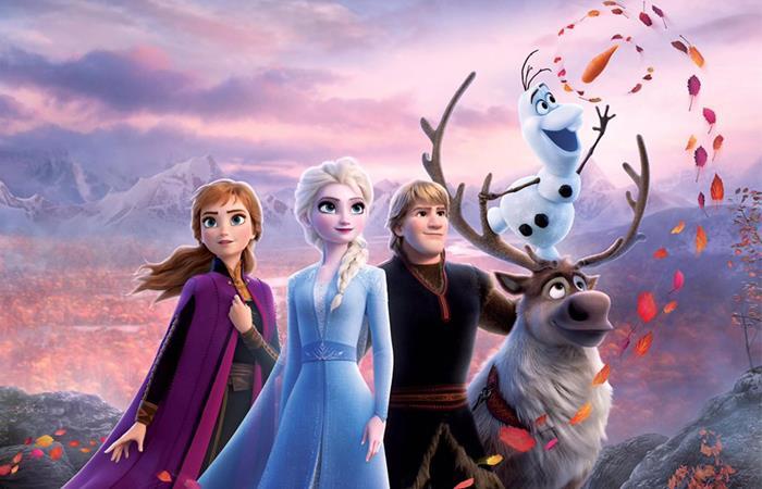 """""""Frozen 2"""" se estrenó este 21 de noviembre. Foto: Twitter"""