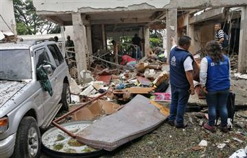 Tres policías muertos y siete más heridos deja atentado en Cauca