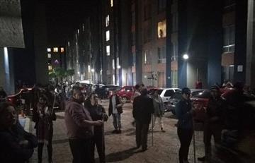 Bogotá en vilo tras intento de saqueo a conjuntos cerrados en toda la ciudad