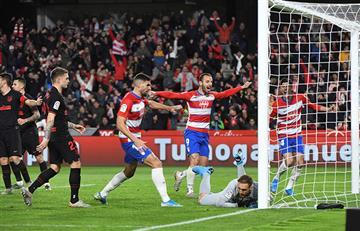 Sin 'Santi' Arias y Adrián Ramos, Atlético y Granada igualaron