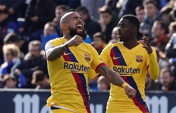 Barcelona sufrió para ganarle al colero de la Liga de España