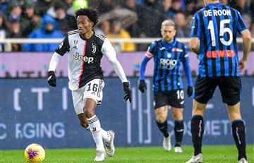 Con Cuadrado y Muriel pero sin Duván, Juventus derrotó a Atalanta