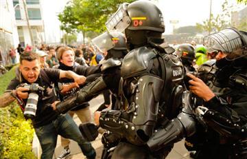 FLIP condena agresión a periodistas por parte de la fuerza pública