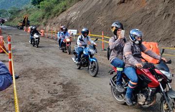 Se habilita el paso en la autopista Medellín – Bogotá por 12 horas.