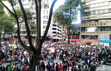 Problemas de movilidad se 'desatan' por múltiples protestas en la ciudad
