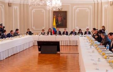 Así fue la reunión entre Duque y los convocantes del paro nacional