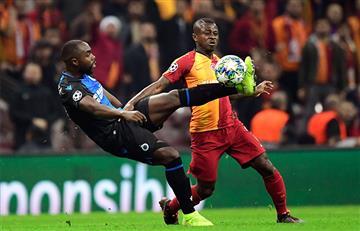 Buen partido de Álvarez Balanta ante Galatasaray por la Champions League