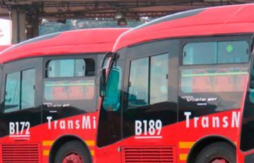 Estaciones de Transmilenio cerradas y marchas dificultan la movilidad de Bogotá
