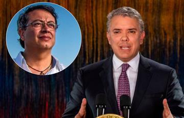 """Duque arremete contra Gustavo Petro y lo tilda de """"pirómano"""""""
