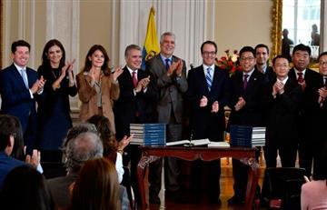 Histórico, tras firma de contrato Bogotá tendrá metro en 2025