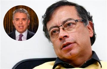"""""""La culpa no es de Petro, es de Duque"""": Gustavo Petro sobre movilizaciones"""