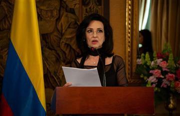 Nueva canciller, Claudia Blum, habló del paro nacional y la migración venezolana