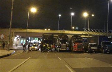Joven que cayó de puente al norte de Bogotá presenta múltiples fracturas