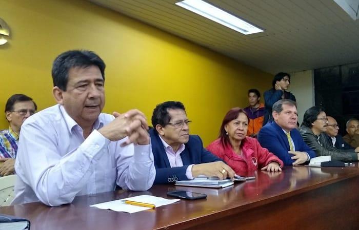 Se espera que el 29 de noviembre lleguen a Bogotá diferentes grupos étnicos del país. Foto: Twitter
