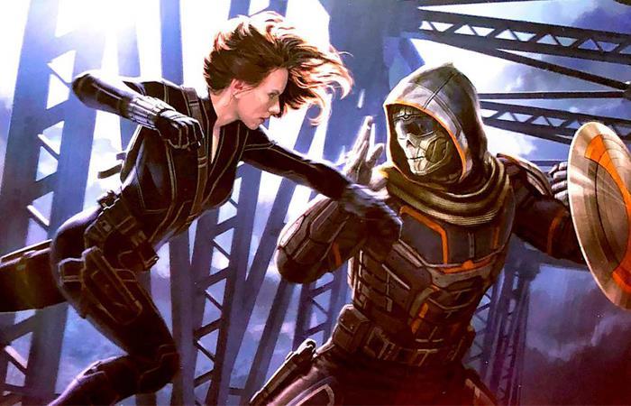 Tráiler Black Widow Marvel Studios