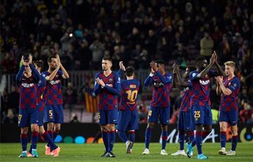 Sensible baja de Barcelona para los partidos ante Atlético y Real Madrid