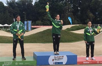 [FOTOS Y VIDEO] Mariana Pajón se cuelga una nueva medalla de oro en los Juegos Nacionales