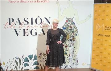 """Pasión Vega estrena su nuevo álbum """"Todo lo que tengo"""""""