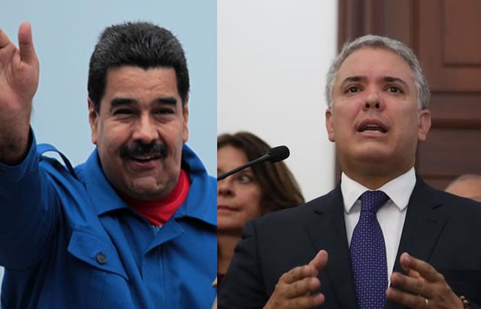 """Nuevamente el presidente Nicolás Maduro ve a Colombia como """"una amenaza"""". Foto: Twitter"""