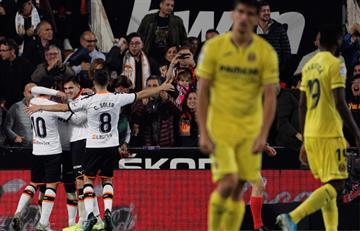 El Villarreal de Carlos Bacca perdió ante Valencia