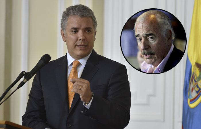 Pastrana defendió la labor de Duque en la Presidencia de Colombia. Foto: Twitter