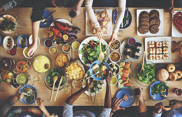 No dejes de comer, aliméntate bien