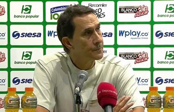 Final Liga Aguila FPC America de Cali Alexandre Guimaraes Michael Rangel
