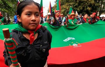 """Indígenas lideraron en Colombia el """"Cacerolazo Latinoamericano"""""""