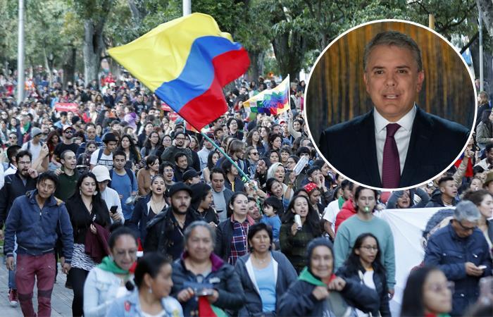 Paro Nacional Iglesia católica Gobierno Iván Duque Manifestantes