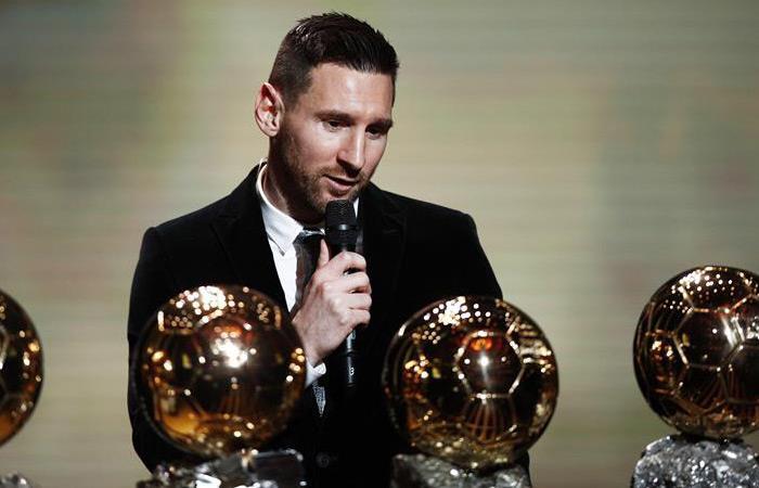 Retiro Lionel Messi Balón de Oro 2019