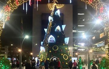 Esta es la primera Villa Suiza navideña que se ha instalado en Bogotá