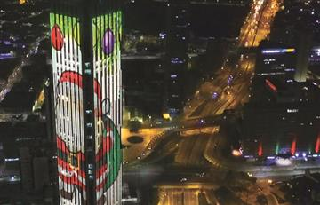 Gran espectáculo navideño para la tradicional noche de velitas en la Torre Colpatria