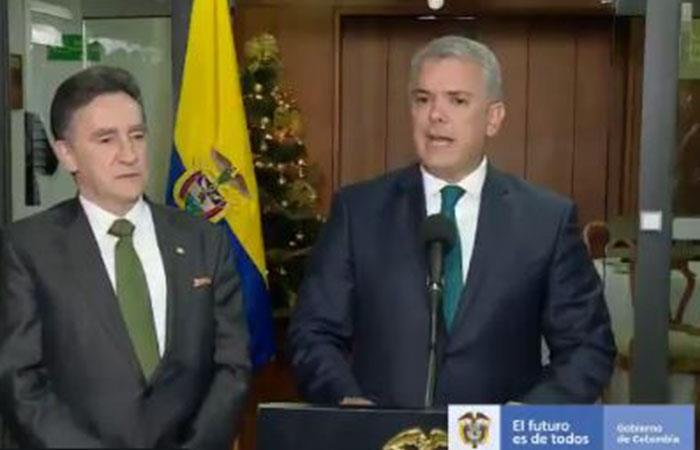 Presidente Iván Duque. Foto: Twitter