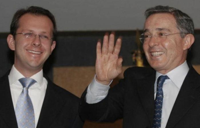 Andrés Felipe Arias fue mano derecha del expresidente Álvaro Uribe. Foto: Twitter