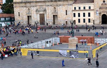 Movilizaciones de este miércoles si llegarán a la Plaza de Bolívar
