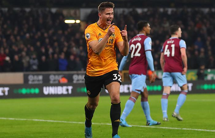 Wolverhampton se metió en puestos de Champions tras su victoria. Foto: Twitter