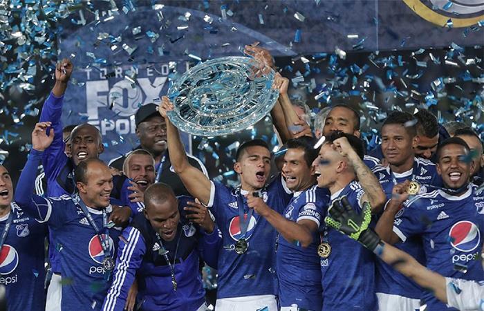 Millonarios es el actual campeón del cuadrangular amistoso. Foto: Twitter