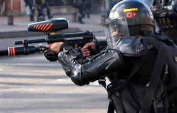 Se atravesó en el disparo: Uniformado del Esmad que impactó a Dilan Cruz